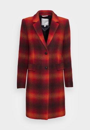 BLEND CLASSIC COAT - Klasický kabát - big shadow red