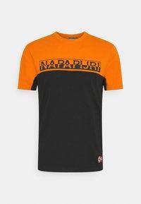 Napapijri - ICE - T-shirt con stampa - black - 4