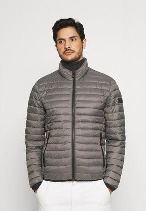 JACKET REGULAR FIT STAND UP COLLAR ZIP - Light jacket - flint stone