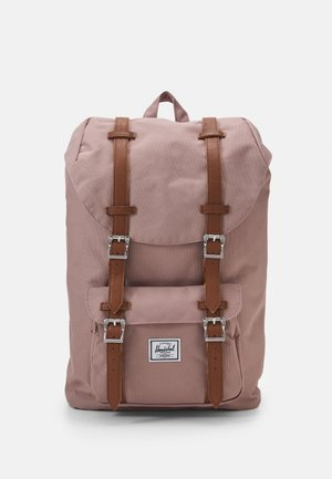 LITTLE AMERICA MID-VOLUME UNISEX - Rucksack - ash rose/tan