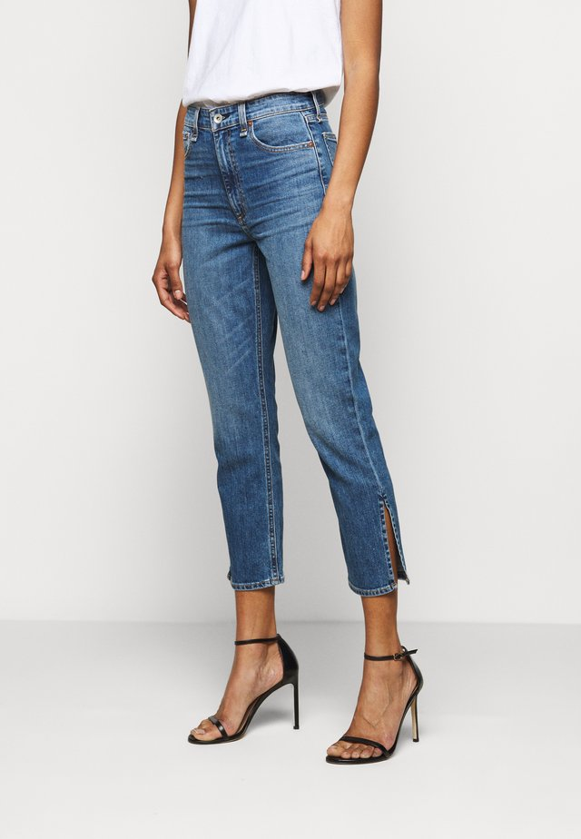 NINA HIGH RISE ANKLE - Jeans bootcut - julienne