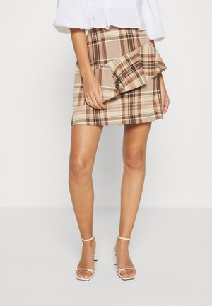 SPARROW - Pencil skirt - cappuccino
