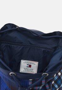 Tommy Jeans - HERITAGE BACKPACK CHECK - Rucksack - blue - 2