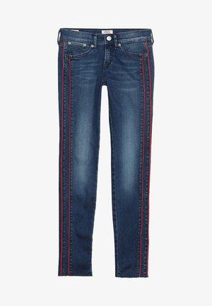 PIXLETTE RACER DESTROY - Jeans Skinny Fit - dark dual force denim
