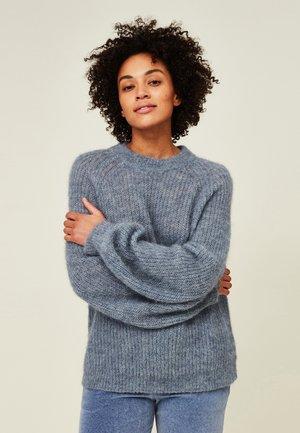 CARRIE - Sweater - blue melange