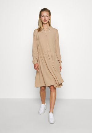BINDIE DRESS - Shirt dress - tanin