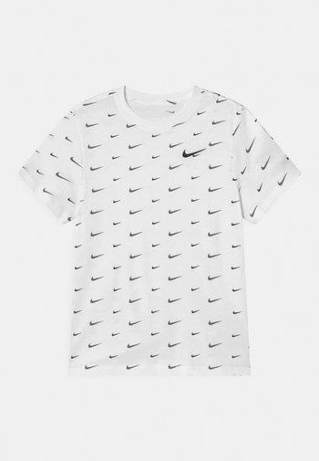 PLUS - Print T-shirt - white