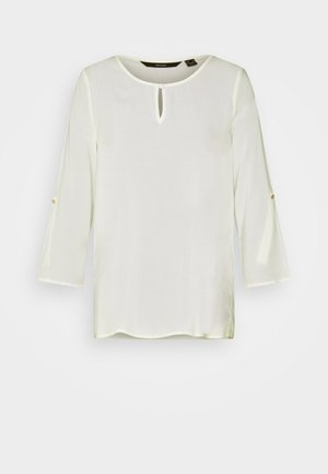 VMNADS FOLD UP - Blouse - snow white