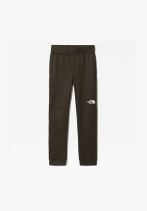 B SURGENT PANT - Tracksuit bottoms - new taupe green