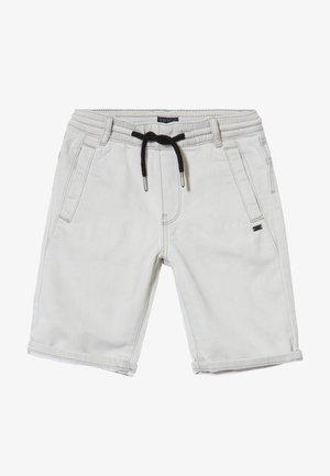 BERMUDA - Denim shorts - grey bleach