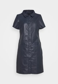 Ibana - DENISE - Shirt dress - dark navy - 0