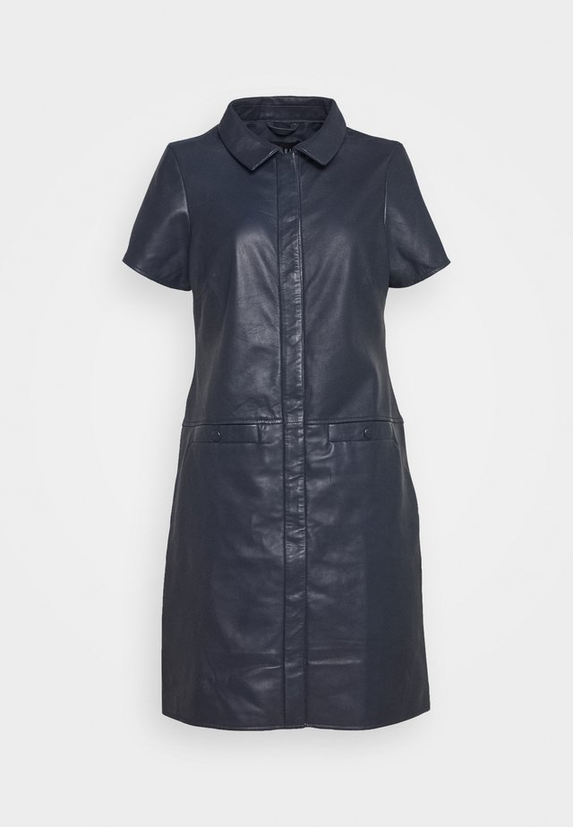 DENISE - Shirt dress - dark navy