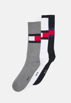 MEN SOCK FLAG 3 PACK - Socks - white/navy/grey