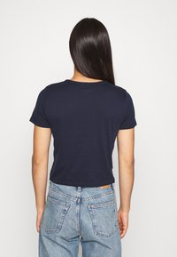 Hollister Co. - TUCKABLE SPORTY - T-shirts med print - navy - 2