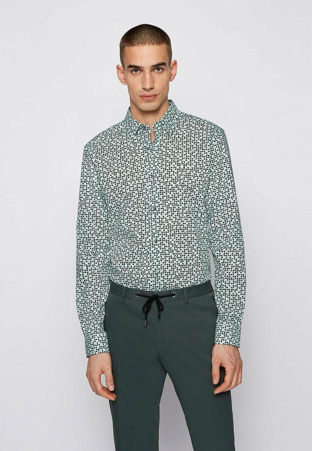 Shirt - open green