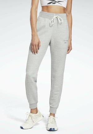 TEXTURED JOGGERS - Verryttelyhousut - grey