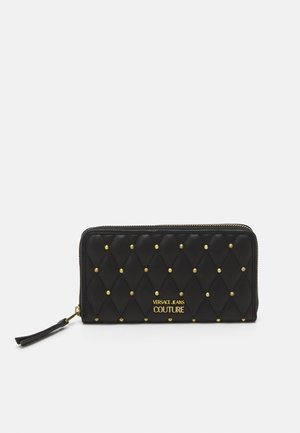 MALLORY ZIP AROUND WALLET - Portfel - nero