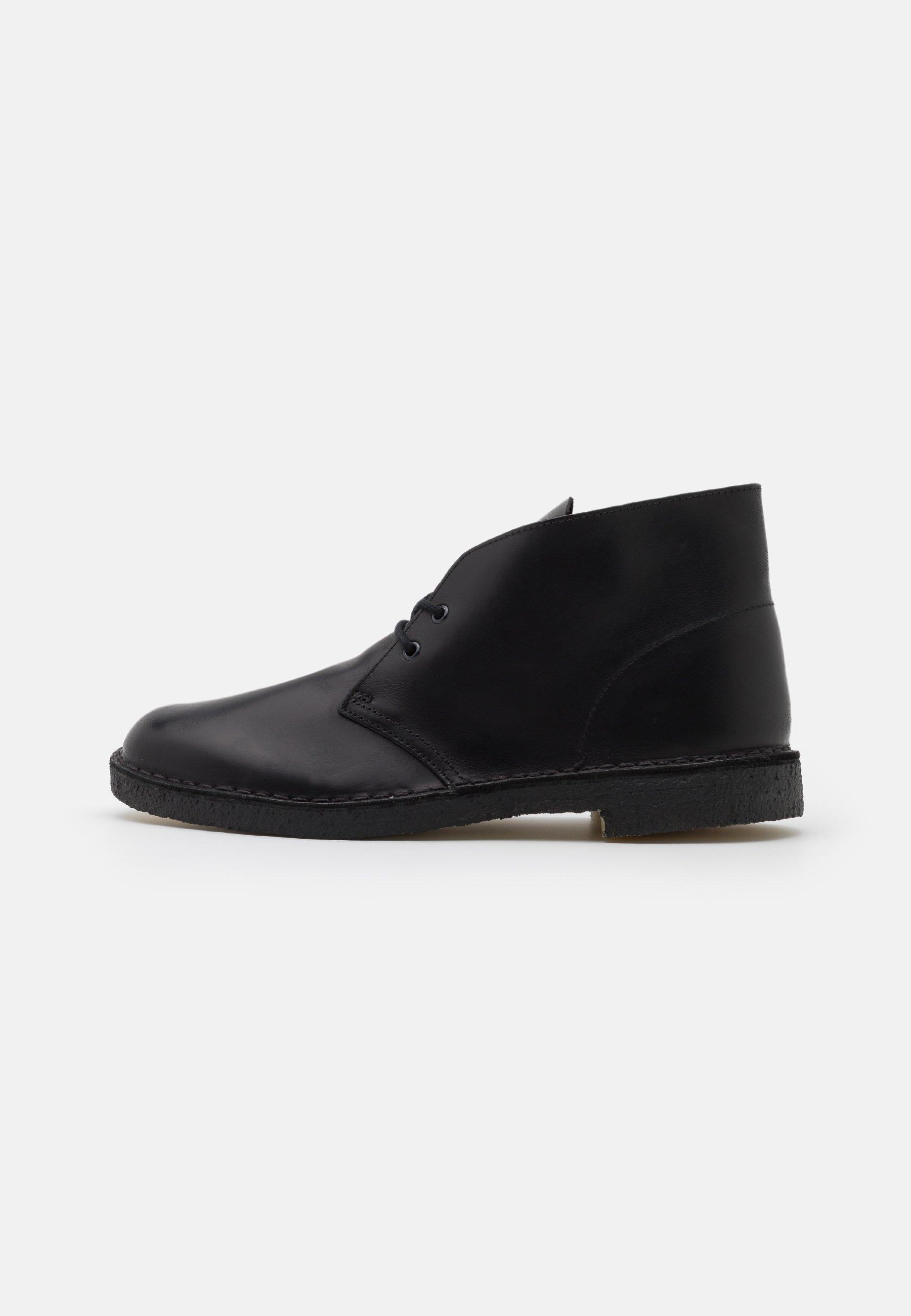 Homme DESERT BOOT - Chaussures à lacets - black