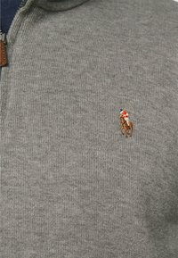 Polo Ralph Lauren - ESTATE - Jumper - metallic grey heather - 5