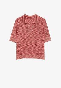 Mango - Print T-shirt - rosa - 5