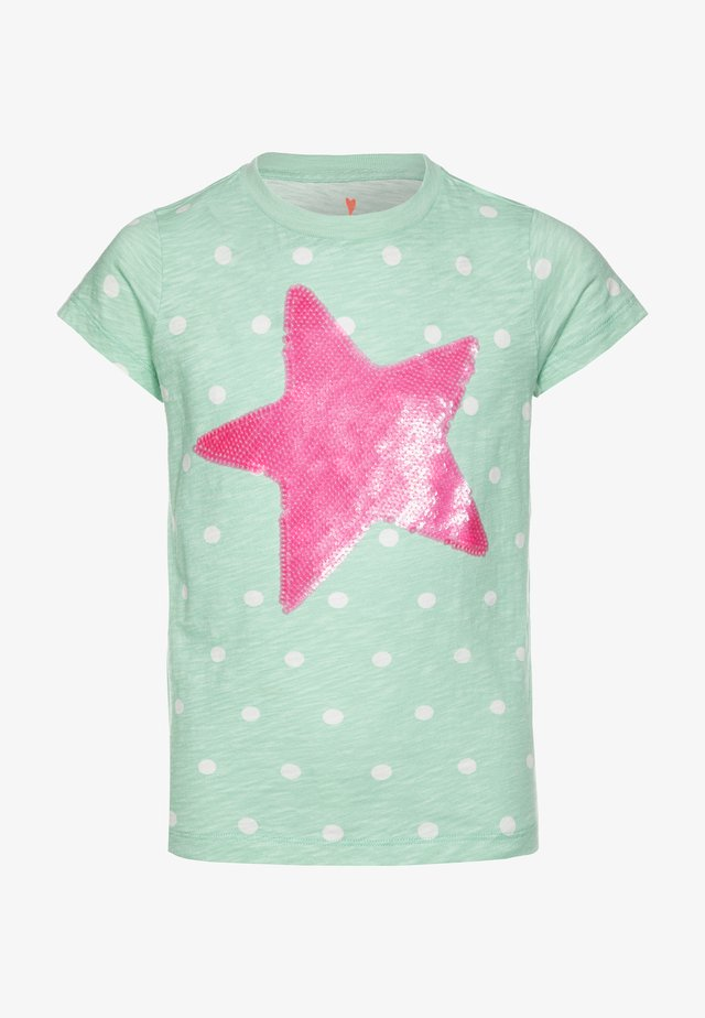 STAR SEQUINGRAPHIC - T-shirts med print - mint