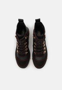 River Island - Platform ankle boots - black - 5