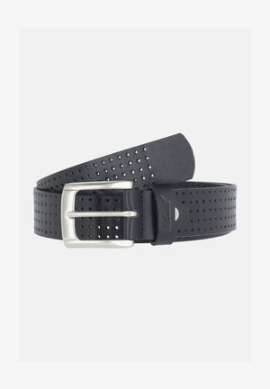PUNCHED - Belt - black