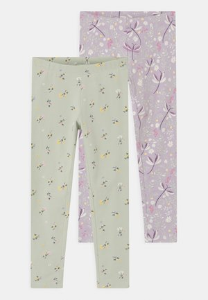 MINI 2 PACK - Leggings - Trousers - light lilac