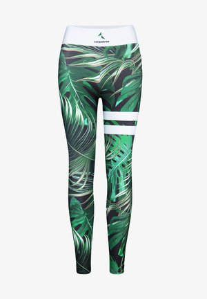 TROPICAL TIGHTS - Leggings - green