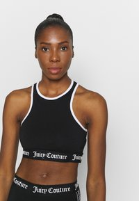 Juicy Couture - IRIS - Sujetador deportivo - black - 4