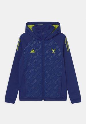 MESSI - Zip-up sweatshirt - victory blue/semi solar yellow