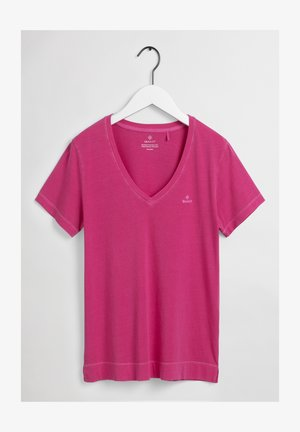 SUNFADED - T-shirt imprimé - cabaret pink