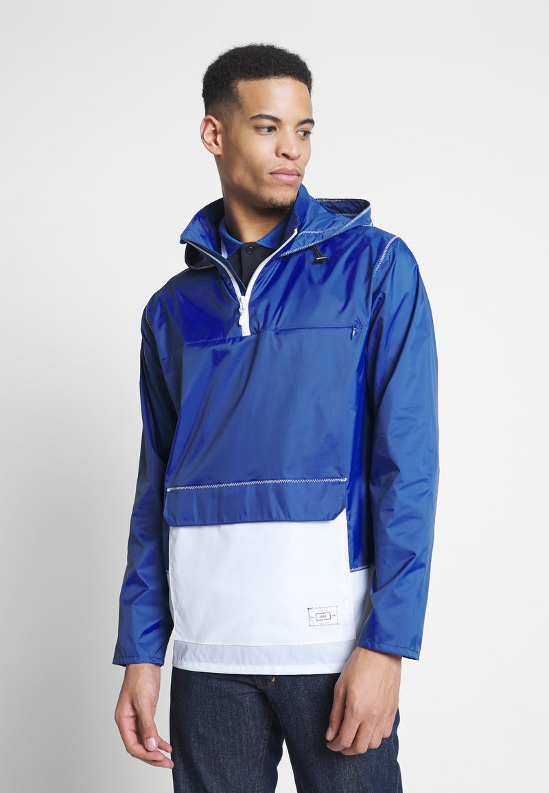 Vans - ANORAK - Summer jacket - sodalite blue/white