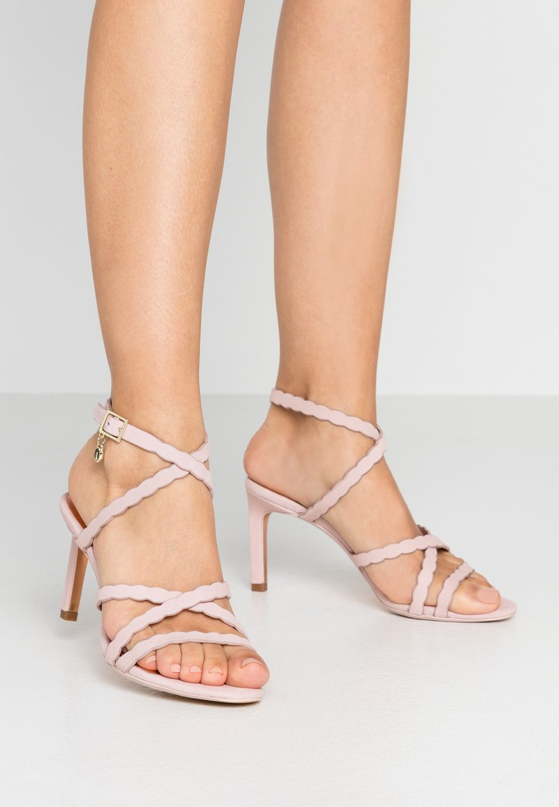 Ted Baker - LILLYS - High heeled sandals - nude/pink
