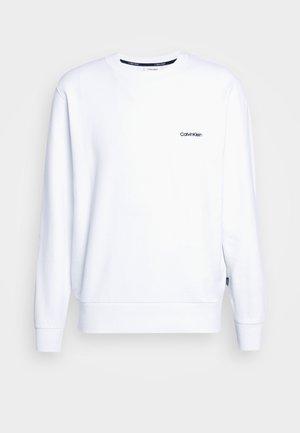 LOGO EMBROIDERY - Felpa - white