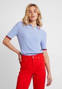 Banana Republic - TIPPED - Polo shirt - light blue - 0