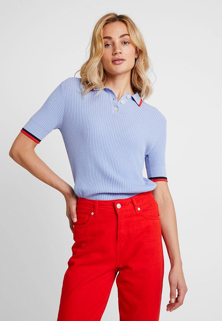 Banana Republic - TIPPED - Polo shirt - light blue