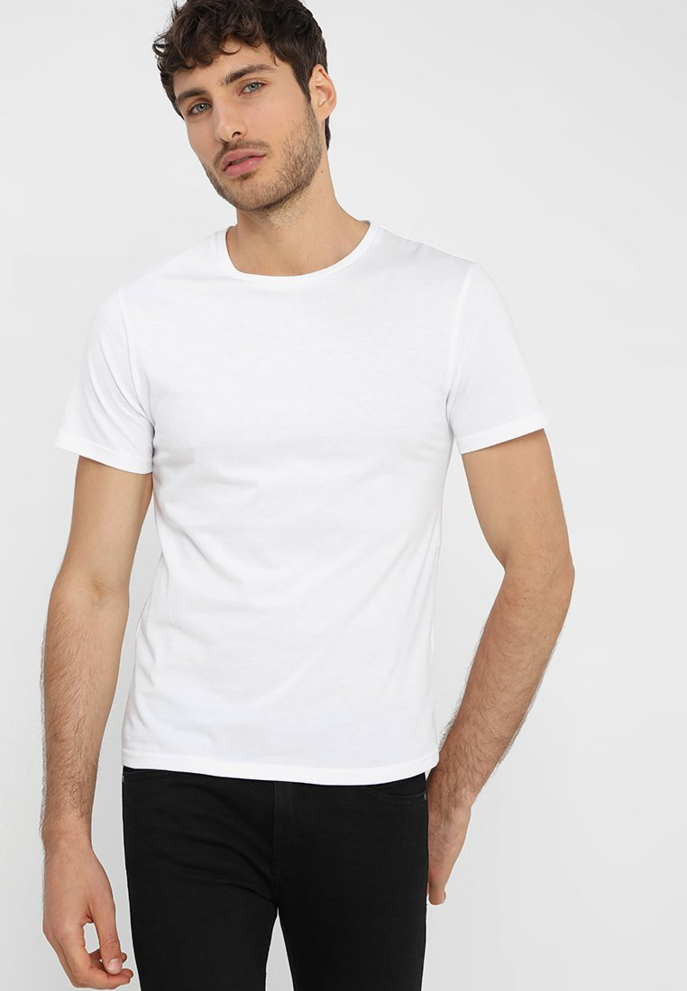 Pier One - T-shirt - bas - white