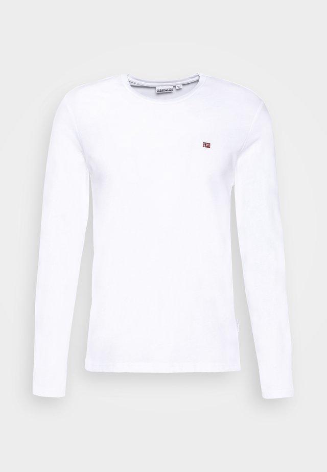 SALIS  - T-shirt à manches longues - bright white