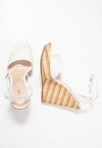 ALDO - CILMACLYA - High heeled sandals - white - 3
