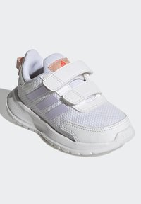 adidas Performance - TENSAUR RUN UNISEX - Neutral running shoes - ftwr white/purple tint/vapour pink - 1