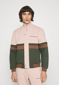 Martin Asbjørn - SAMUEL - Zip-up sweatshirt - multi coloured - 0