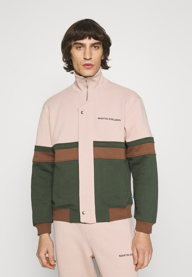 Martin Asbjørn - SAMUEL - Zip-up sweatshirt - multi coloured