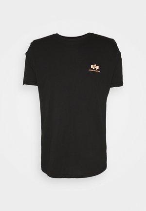 REFLECTIVE - Print T-shirt - black/orange