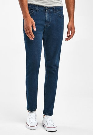 WITH STRETCH - Slim fit jeans - mottled royal blue