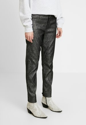 SLOAN SPARKLE - Trousers - silver
