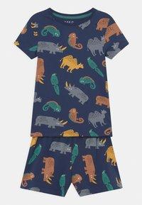 Marks & Spencer London - IGUANA UNISEX - Pyjama set - navy - 0