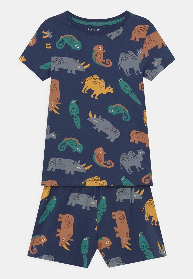 Marks & Spencer London - IGUANA UNISEX - Pyjama set - navy