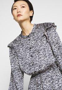 Rebecca Minkoff - HANNAH DRESS - Hverdagskjoler - blackmulti - 4