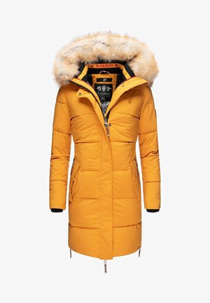 HALINA - Winter coat - yellow